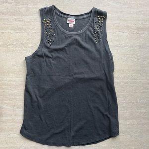 Mossimo studded sleeveless shirt